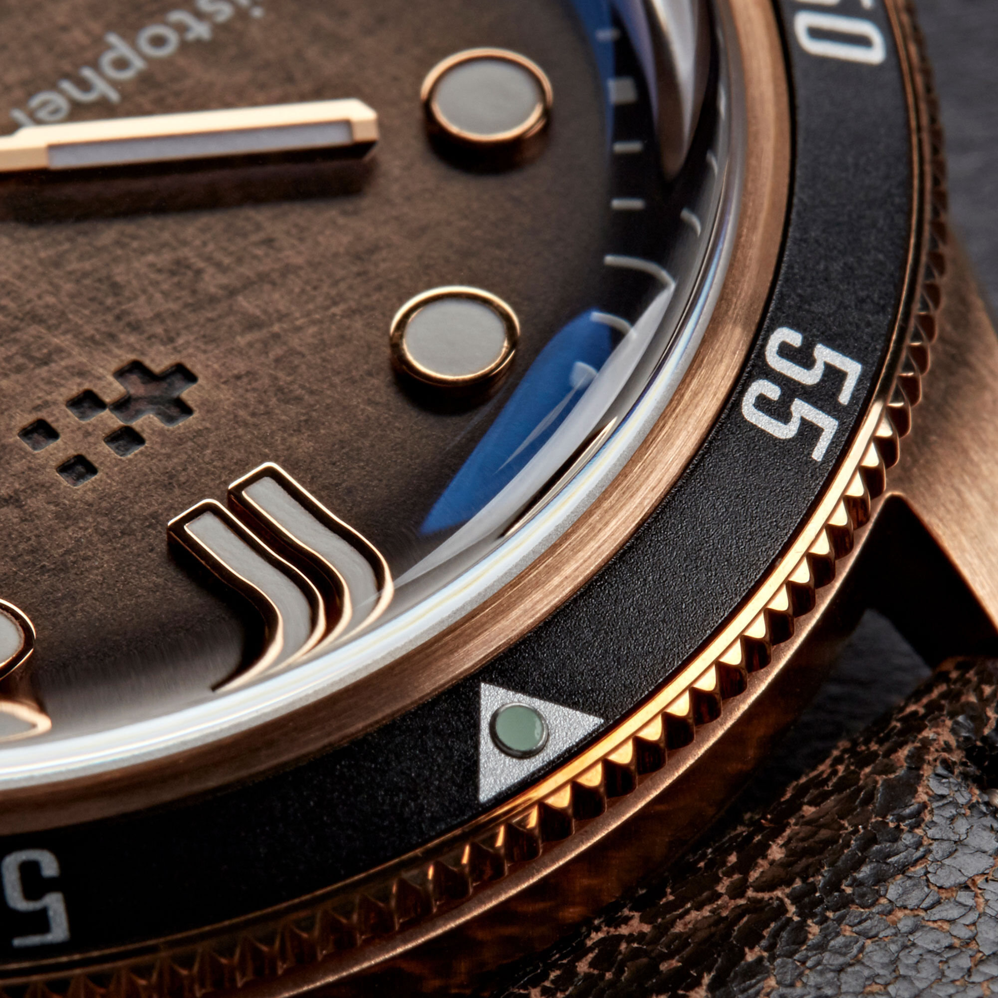 C65 Trident Bronze Ombré COSC Limited Edition