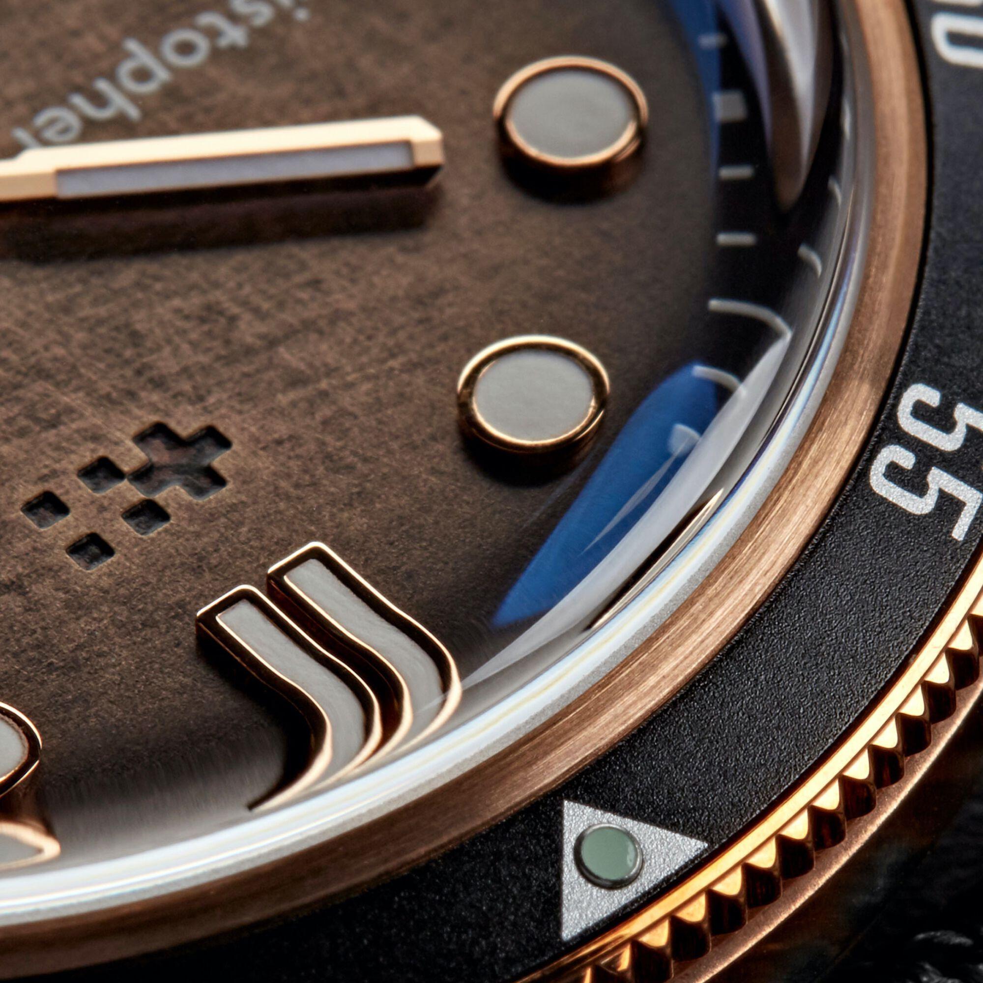 C65 Trident Bronze Ombré COSC Limited Edition