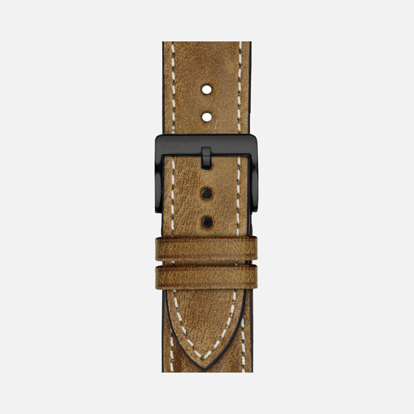 Vintage Oak Leather Strap