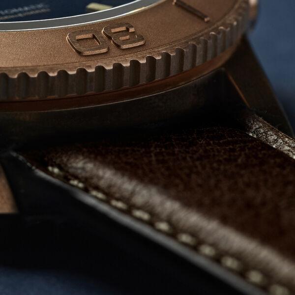 Vintage Oak Leather Strap