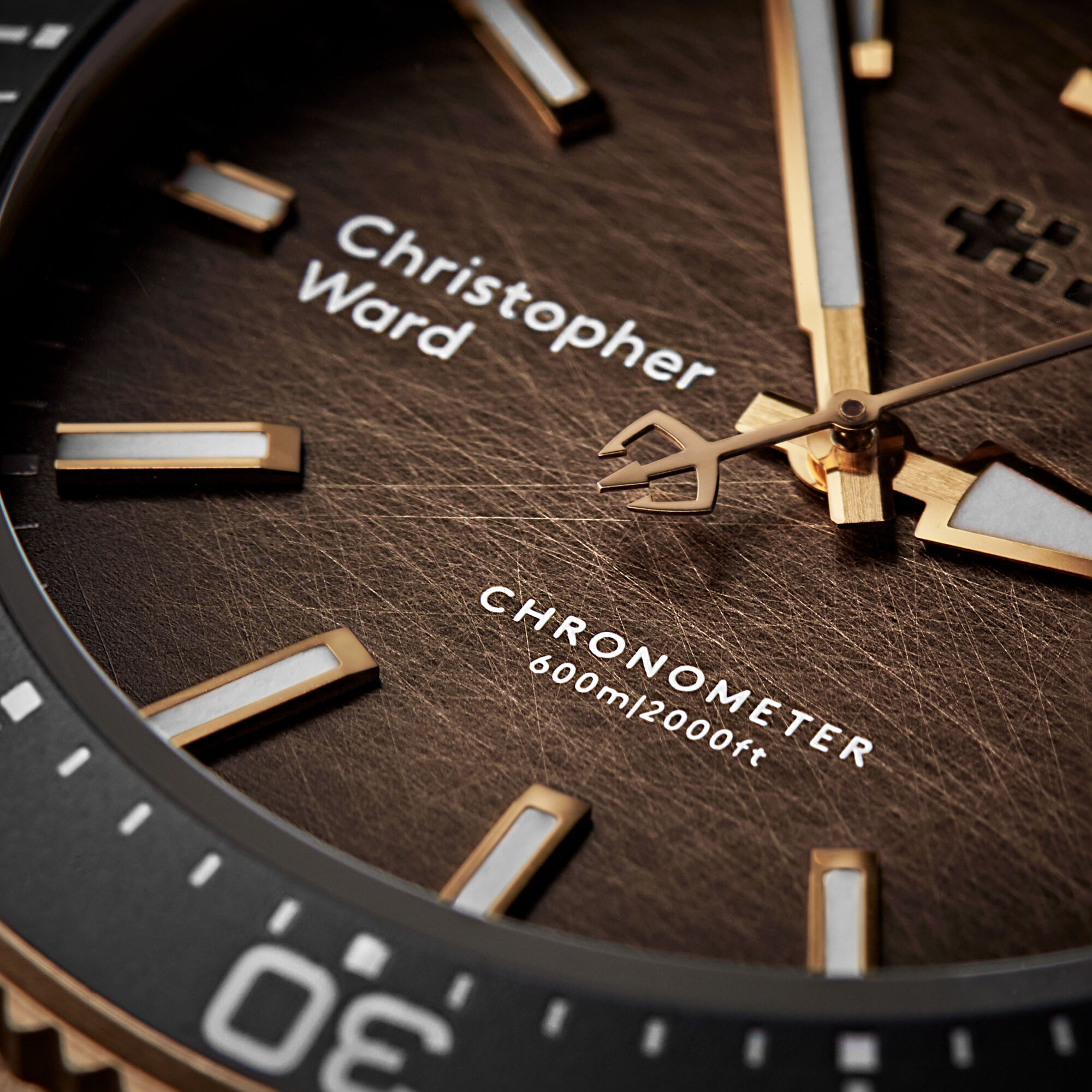 C60 Trident Bronze Ombré COSC Limited Edition